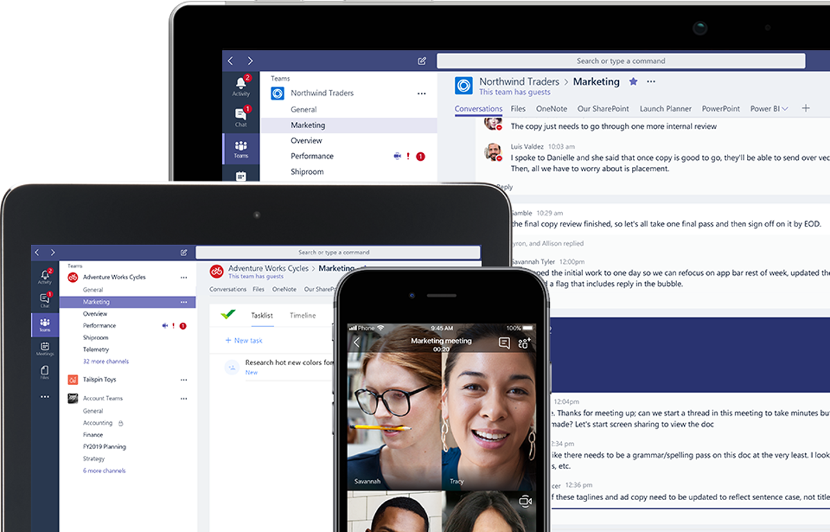 Microsoft Teams download for mobile and desktop app