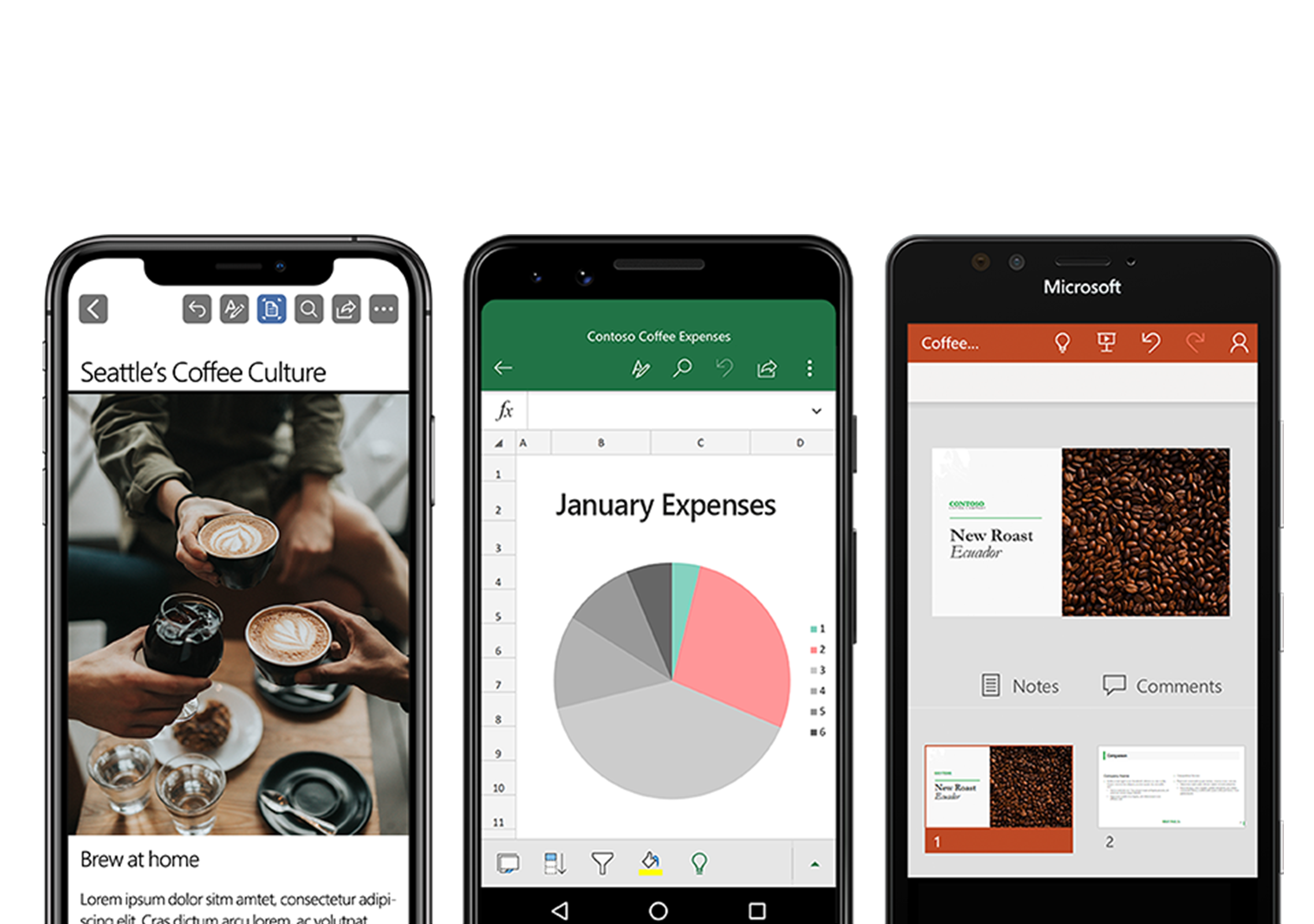 Get Office productivity apps
