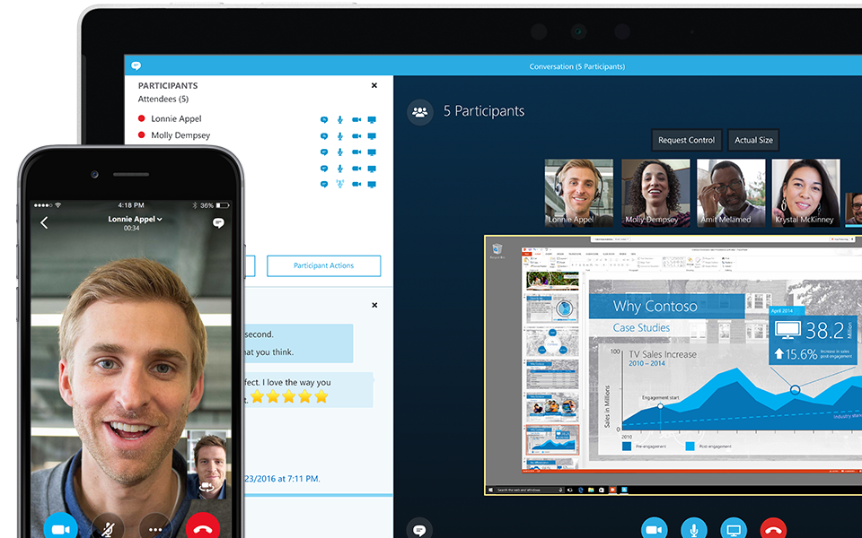 skype video call supported mobile phones list