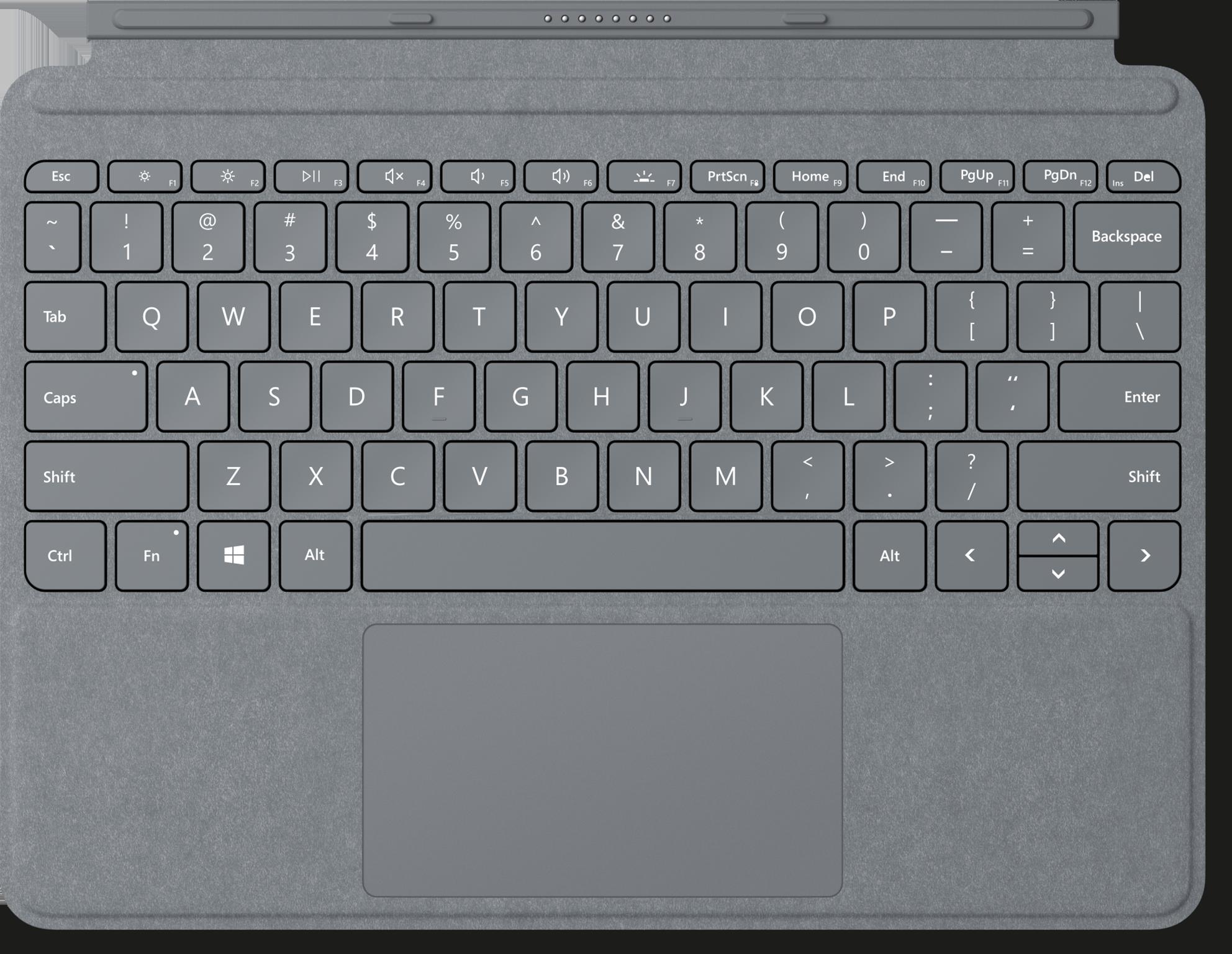Platinum Surface Surface Go Signature Type Cover