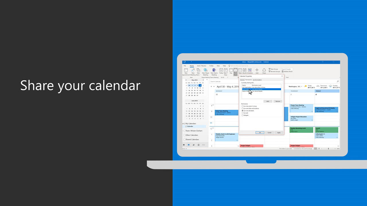 Shared Calendar Icon.Staff Email How To Set Up Calendar Sharing In Office 365 It