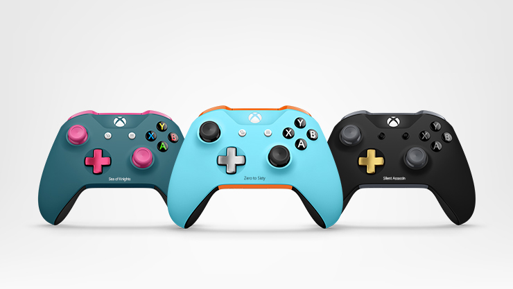 Controller in verschiedenen Farben