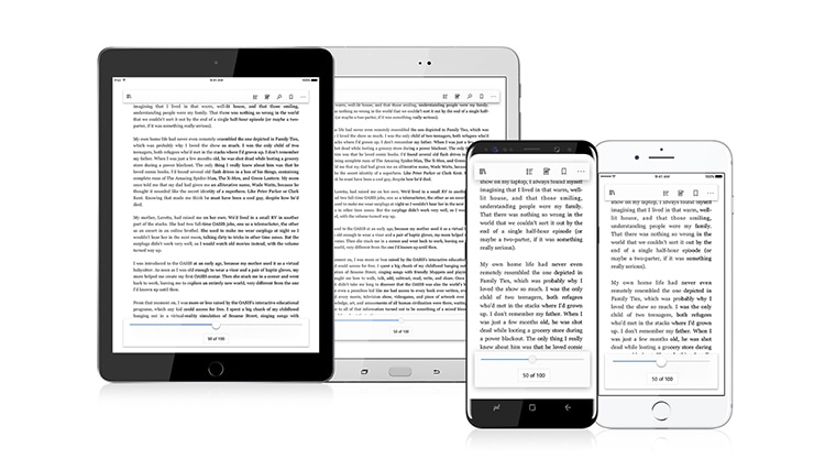 Microsoft books read on your ios or android device fandeluxe Images