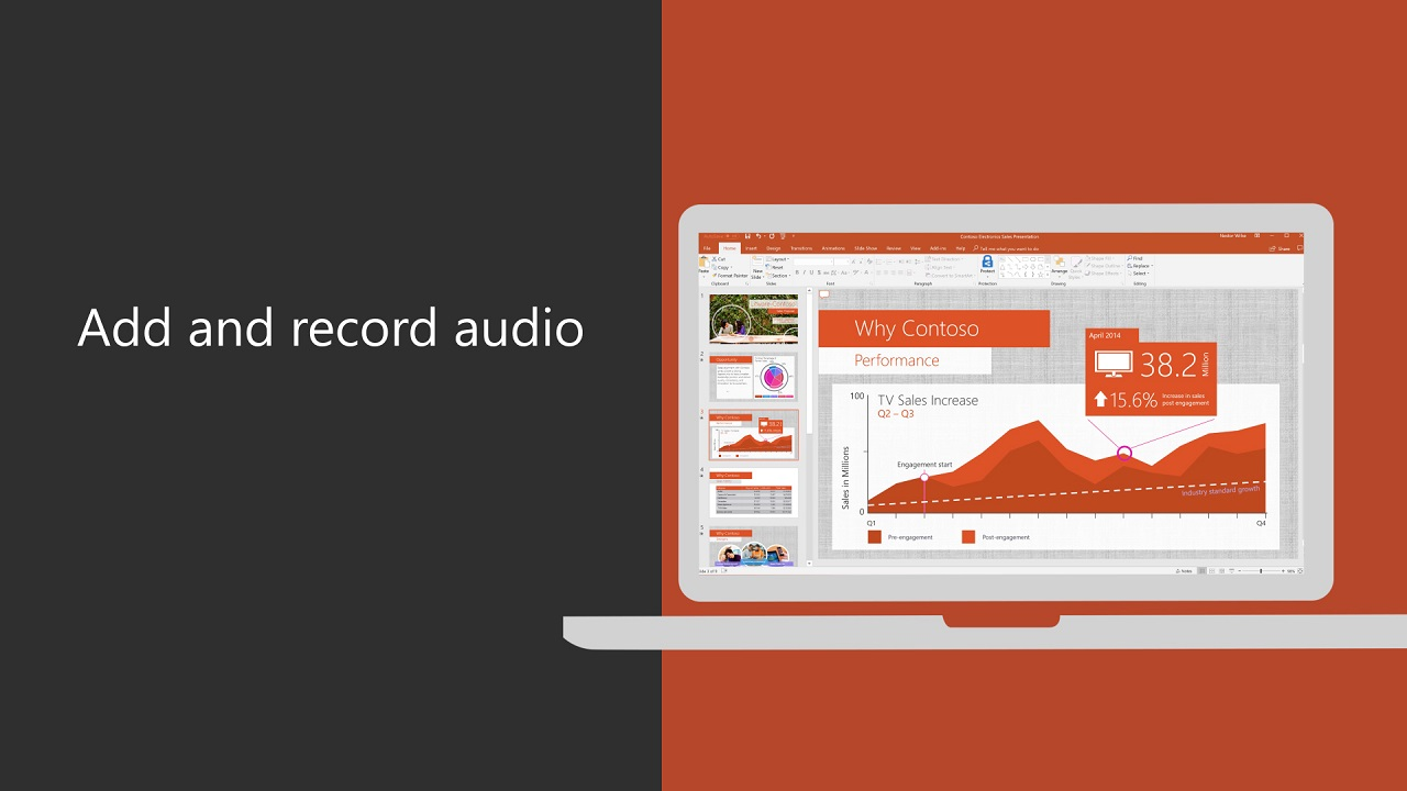 Add Or Delete Audio In Your Powerpoint Presentation Office Support