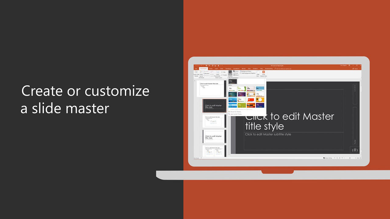 Customize A Slide Master Powerpoint