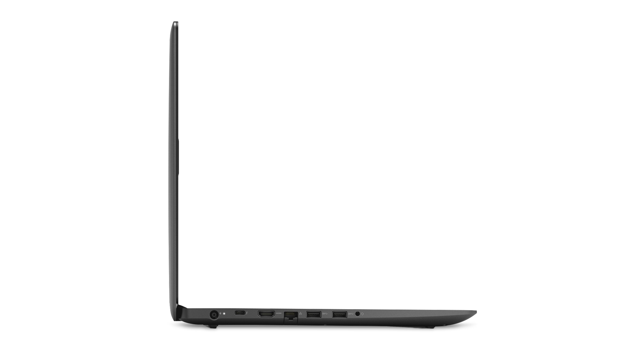 Vue de droite de l'ordinateur portatif de jeu Dell Inspiron