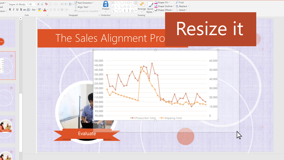 Video Insert Excel Data In Powerpoint Powerpoint