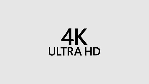 4K Ultra high definition logo
