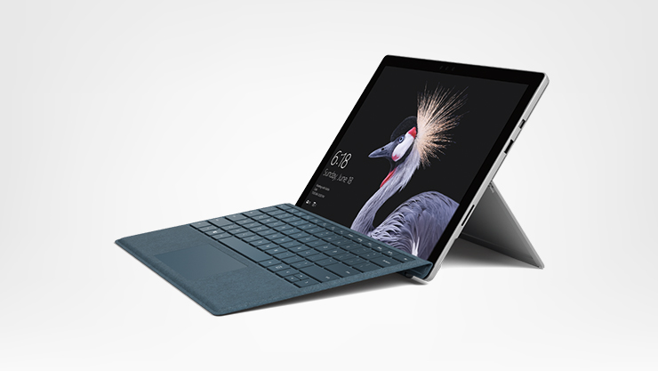A Surface Pro with Type Cover