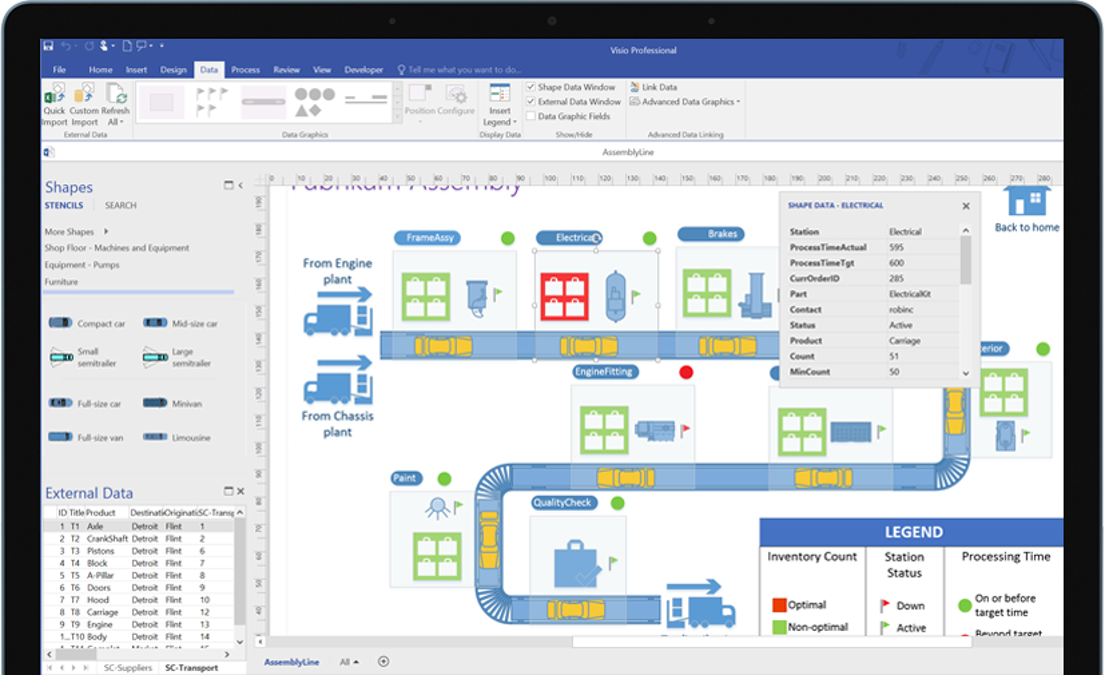 Flowchart Maker Diagramming Software Microsoft Visio