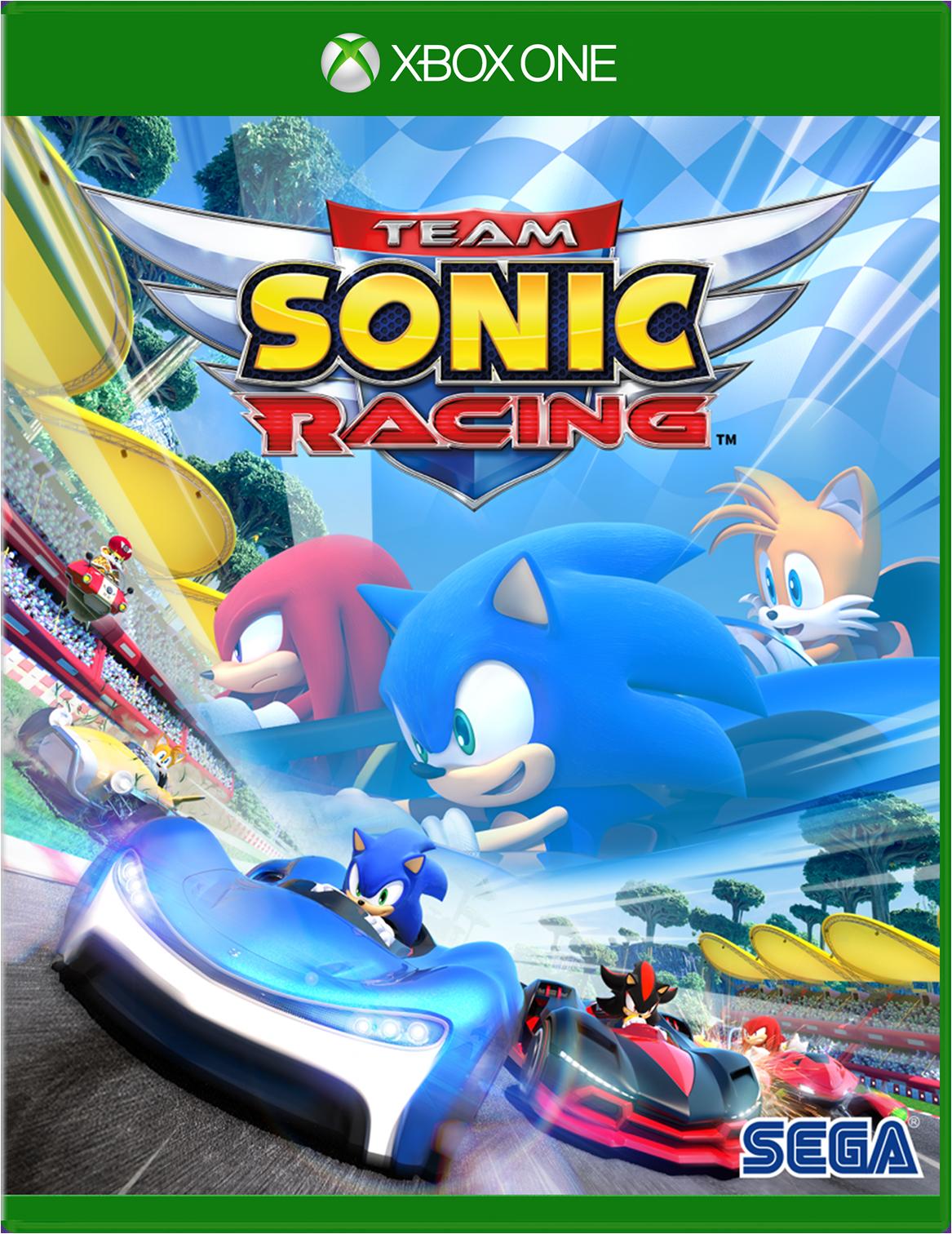 Sega Team Sonic Racing Ca Xbox One