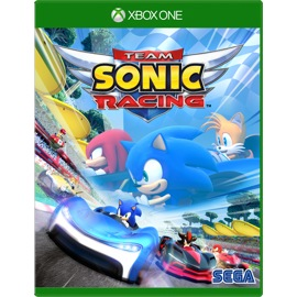 Sega Team Sonic Racing Xbox One game cover and box art