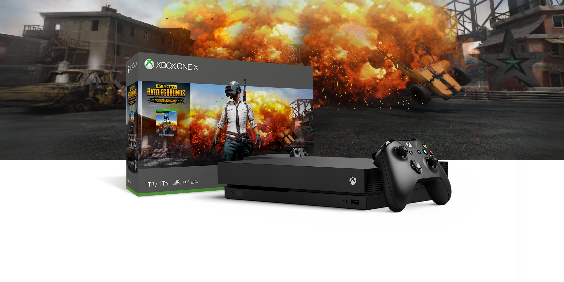 Xbox One S - Battleground