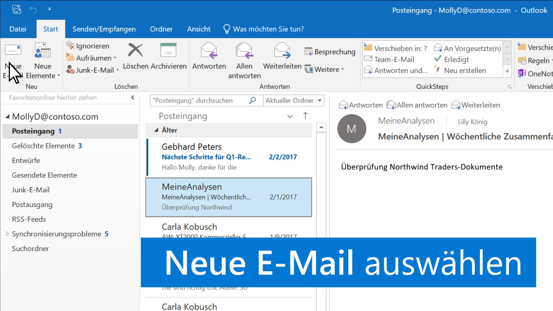 Internet datiert zweite E-Mail
