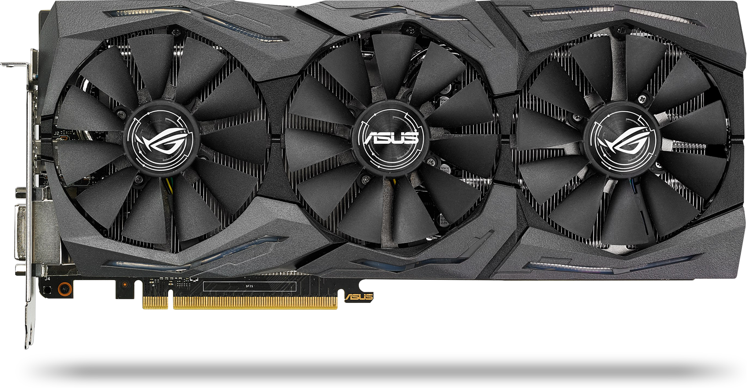 Image of ASUS ROG Strix GeForce GTX 1080 Graphics Card QF7-00919