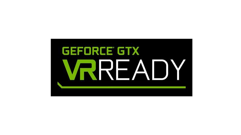 Geforece GTX VR Ready logo