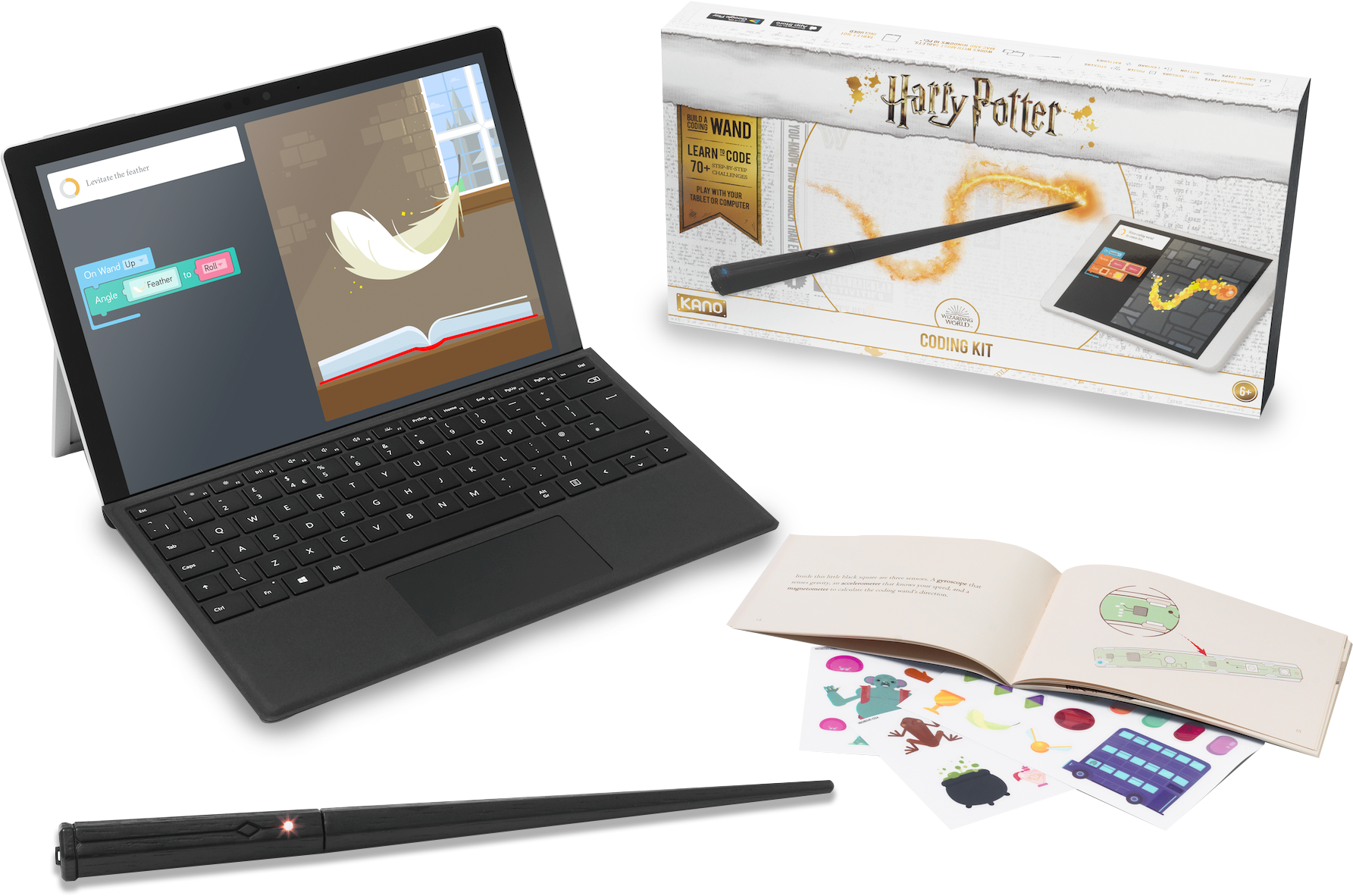 Kano Harry Potter Wand Coding Kit