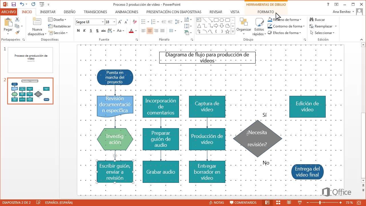 Crear un diagrama de flujo powerpoint ccuart Choice Image