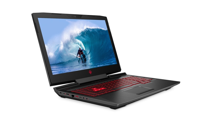 Front left view of the HP OMEN Laptop 17