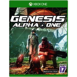 Cover of Genesis Alpha One for Xbox One
