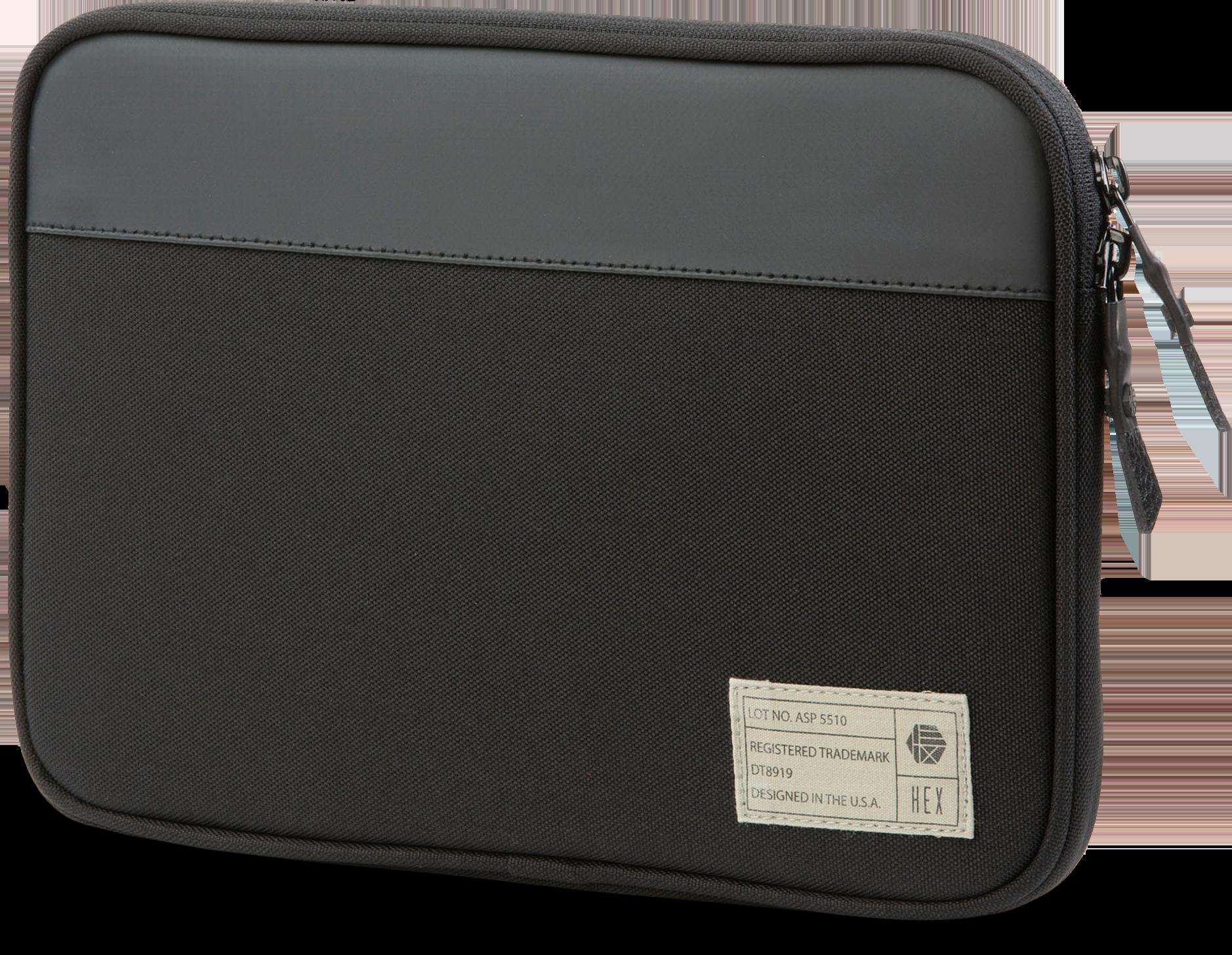 HEX Surface Go Sleeve in Black (Nylon)