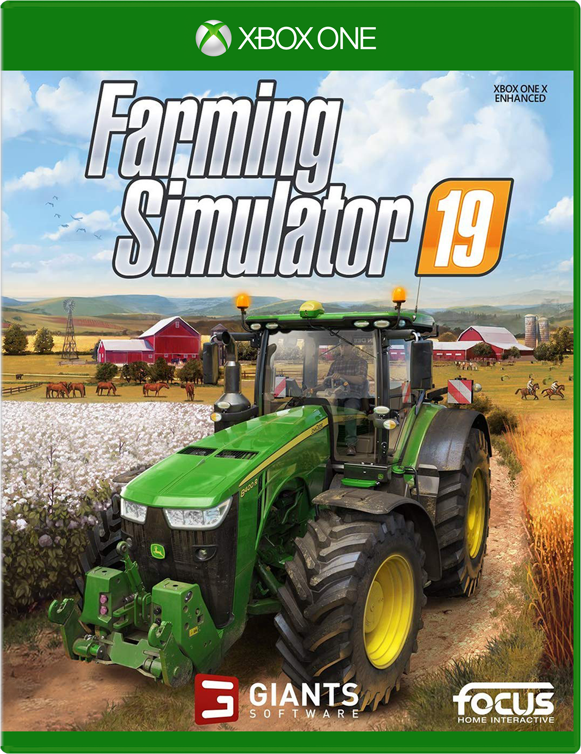 Maximum Games Farming Simulator 19 Xbox One Box Art