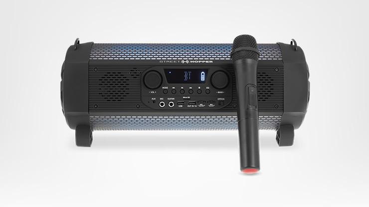 Epsilon Streethopper 6 Plus con micrófono inalámbrico