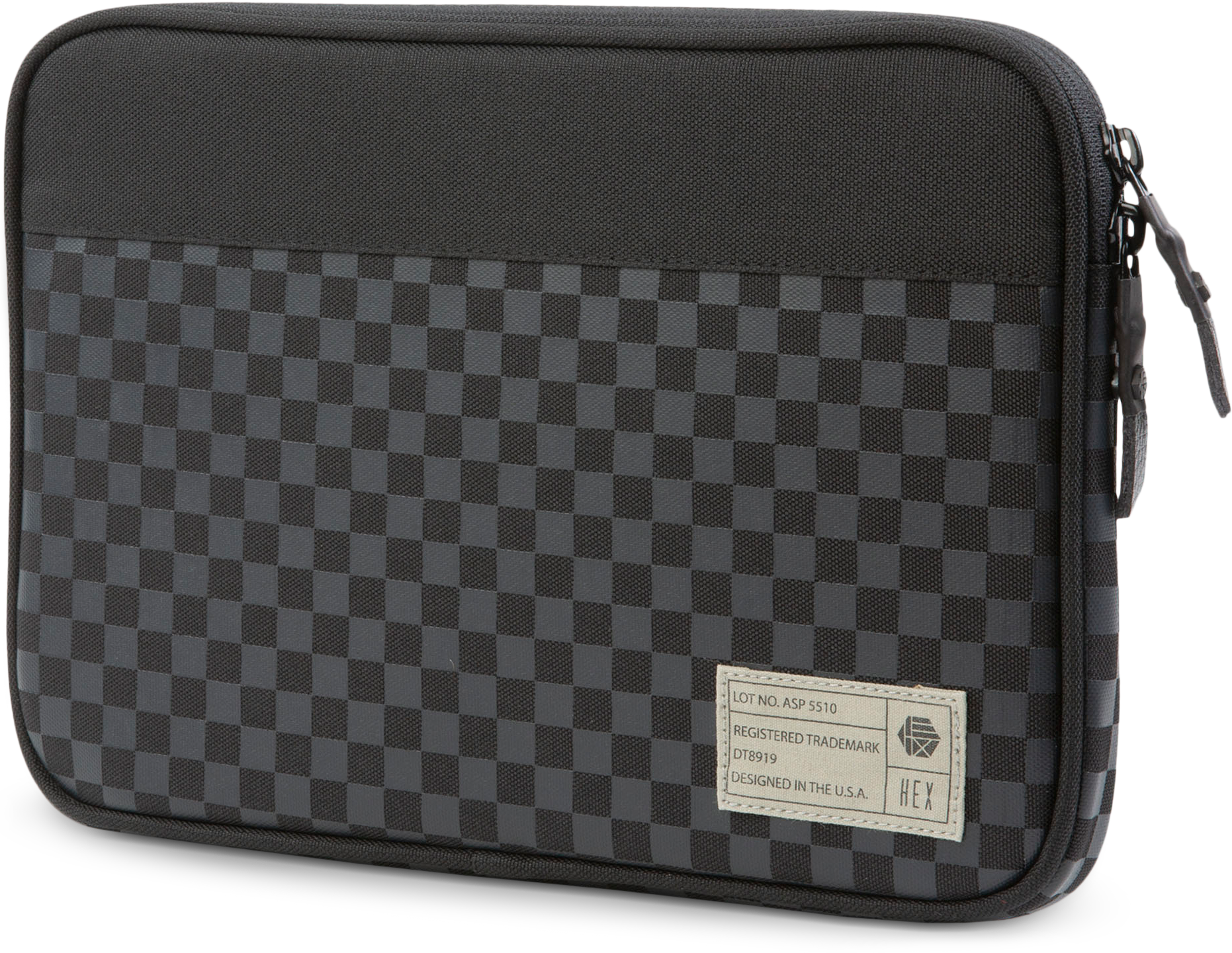RE2nhsp?ver=da93 - HEX Surface Go Sleeve in Black Checker (Nylon)