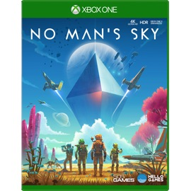 Cover of No Man's Sky for Xbox One