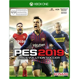 Cover of Pro Evolution Soccer 2019 for Xbox One