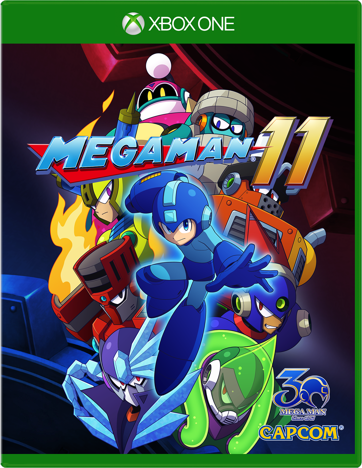 Cover of Mega Man 11 for Xbox One