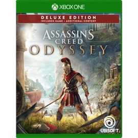 Cover of Assassin's Creed Odyssey Gold Steelbook Edition for Xbox One