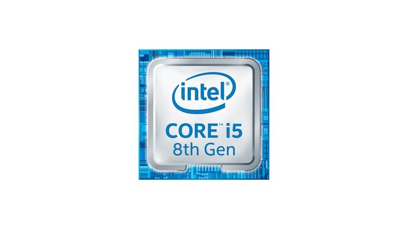 Logotipo de Intel Core i5 de 8.ª generación