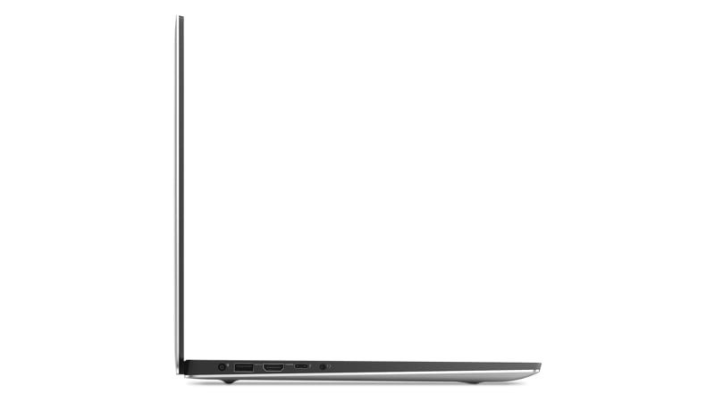 Vista derecha de la Dell XPS 9570