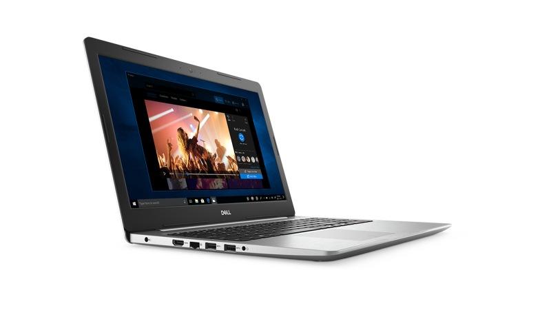 Vista frontal derecha de la Dell Inspiron 5570