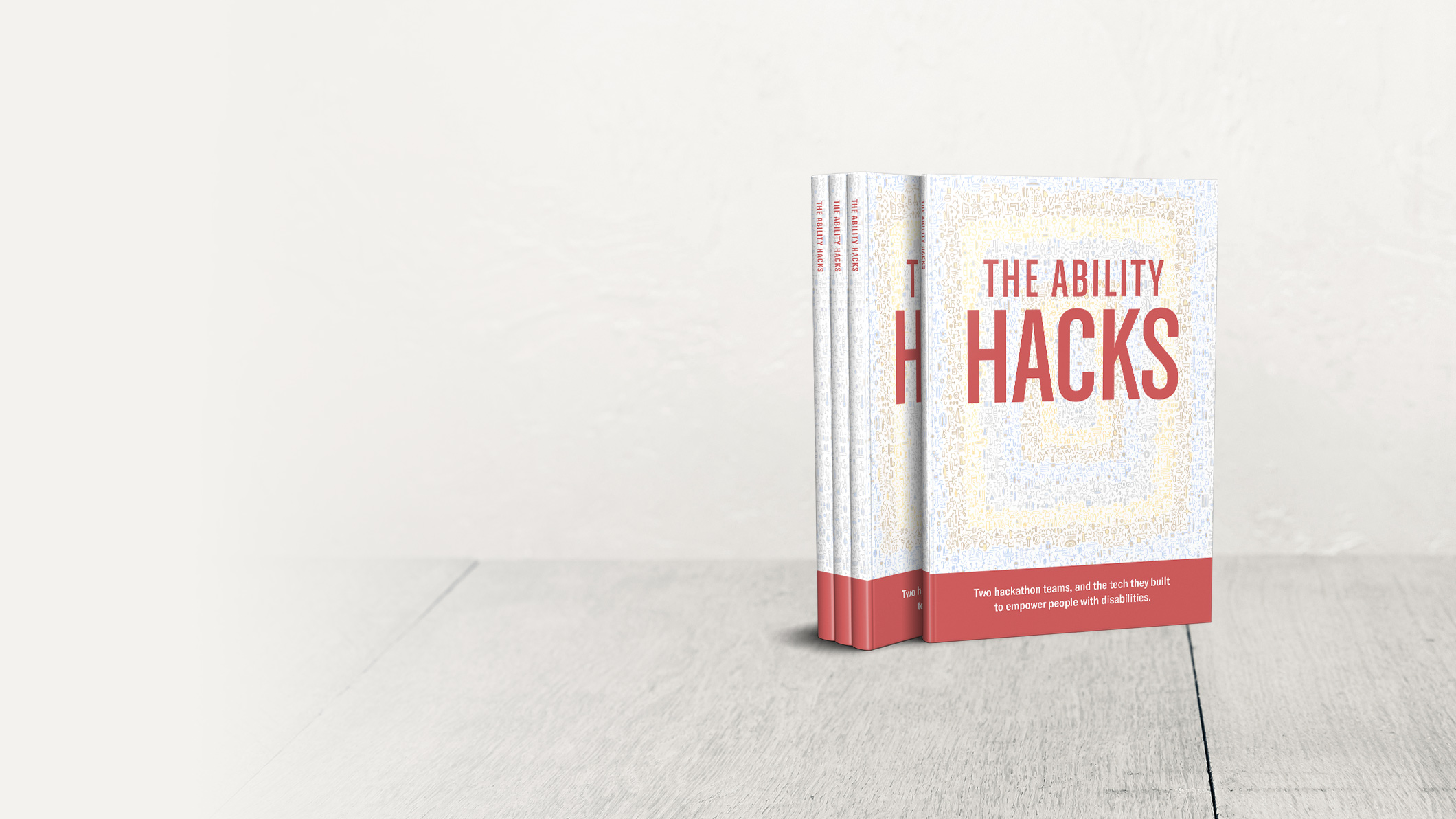 Stack of books: The Ability Hacks – Two hackathon teams, and the tech they built to empower people with disabilities