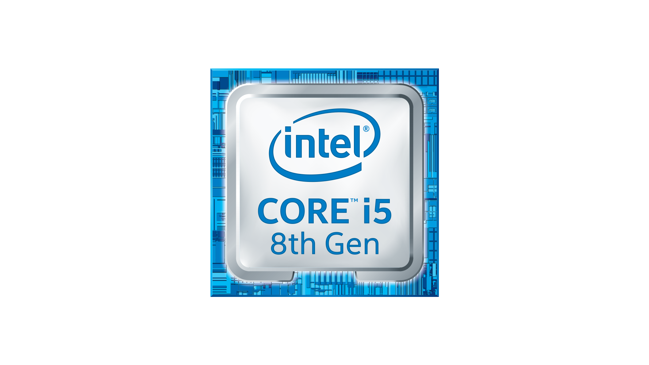 Intel Core i5 8th Gen logo