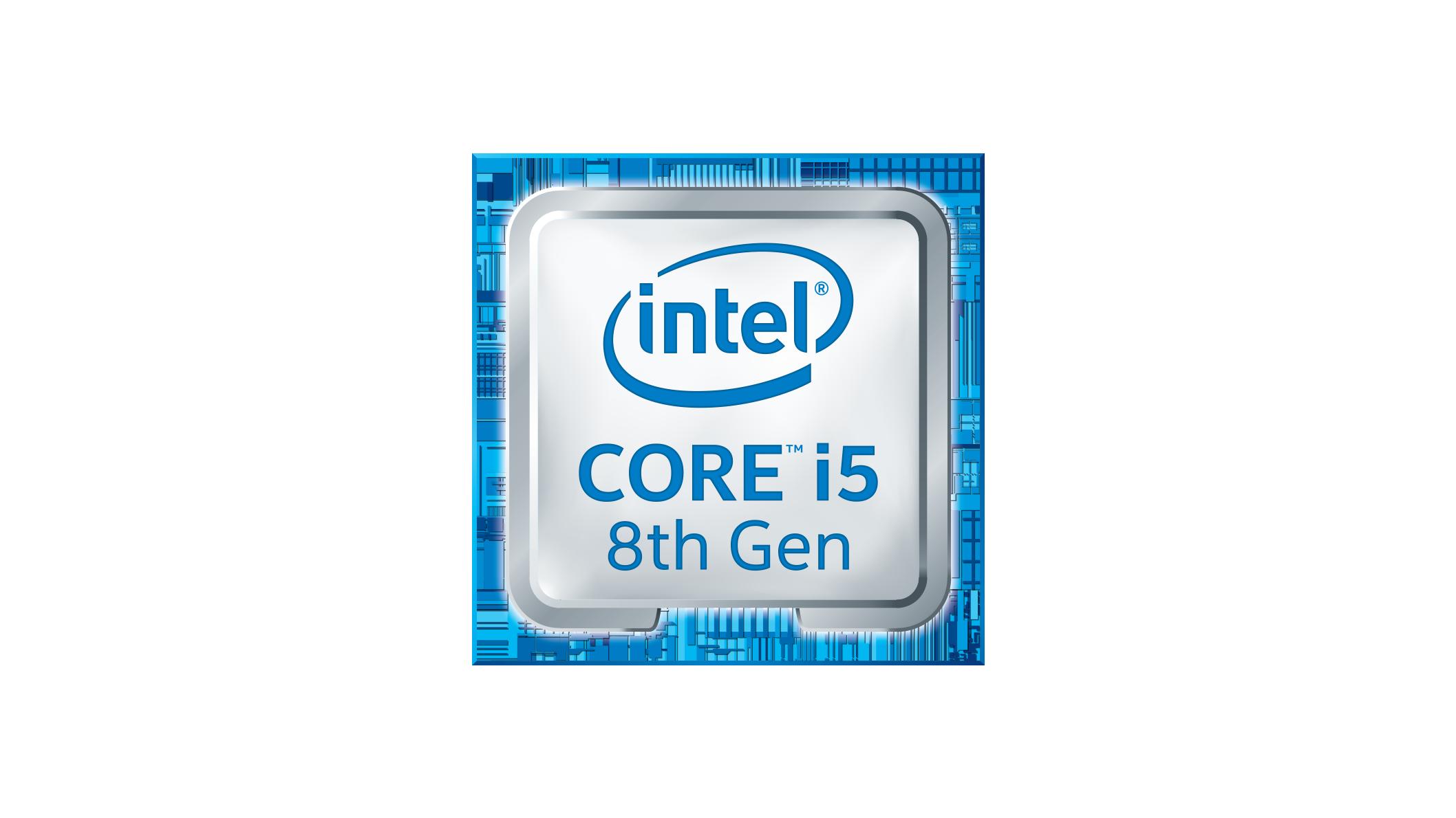 Intel Core i5 8th Gen logo