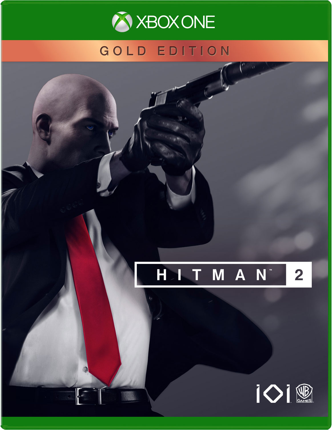 Cover of Hitman 2: Gold Edition for Xbox One