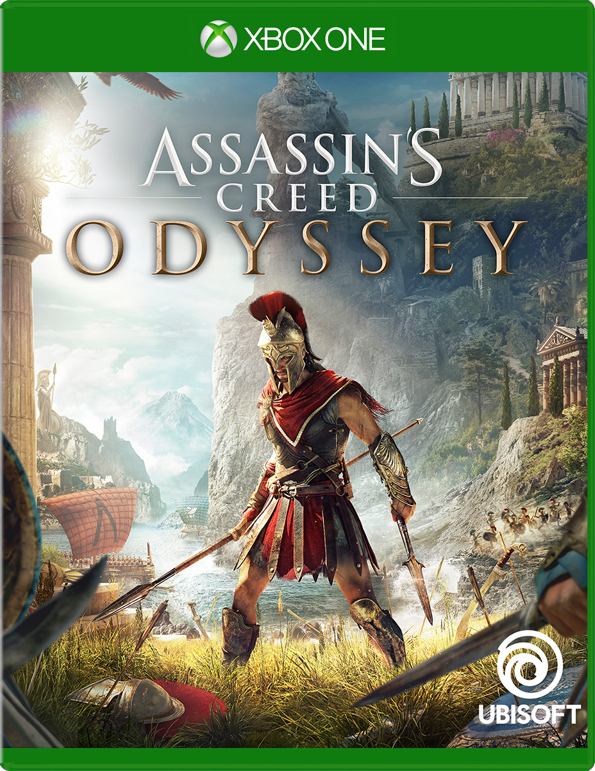 Cover of Assassin's Creed Odyssey Standard Edition for Xbox One