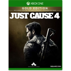 Cover of Just Cause 4 Gold Edition for Xbox One