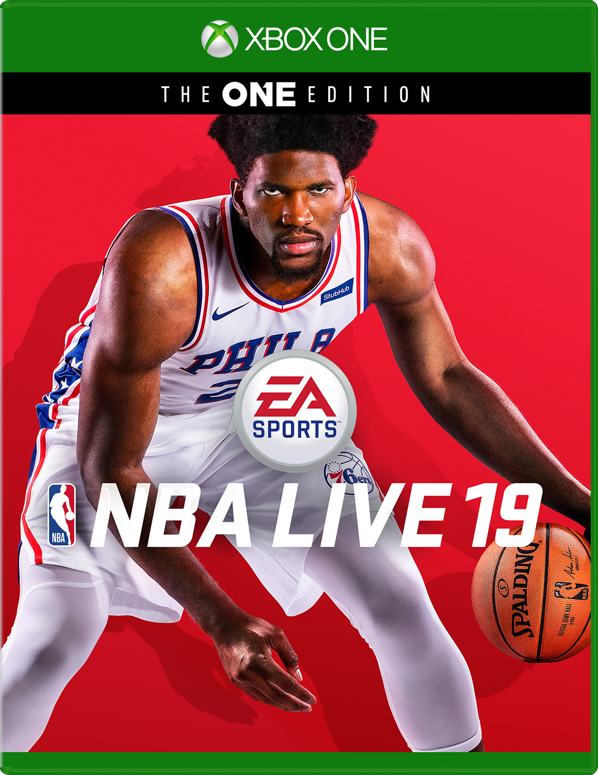 Cover of NBA Live 19 for Xbox One