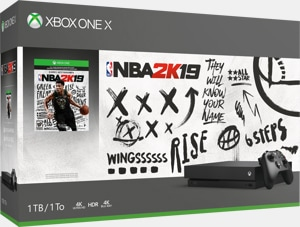 Xbox One X 1TB Console – NBA 2K19 Bundle