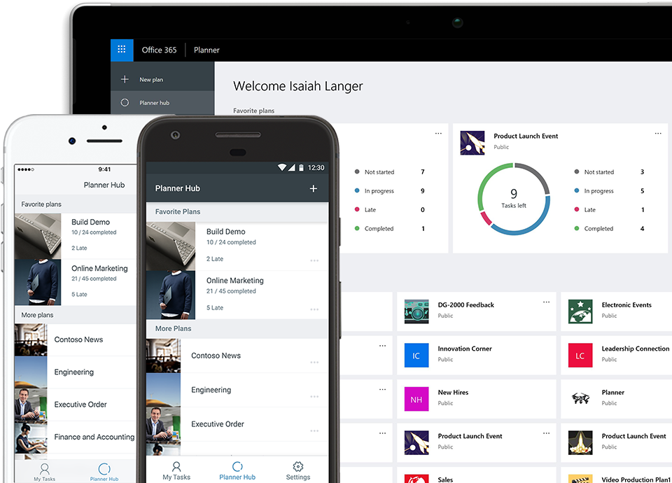 photograph relating to The Simplified Planner App titled Job Regulate for Groups Microsoft Planner