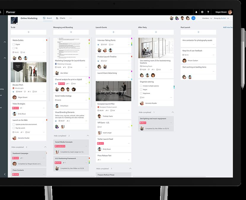 Task Management for Teams – Microsoft Planner