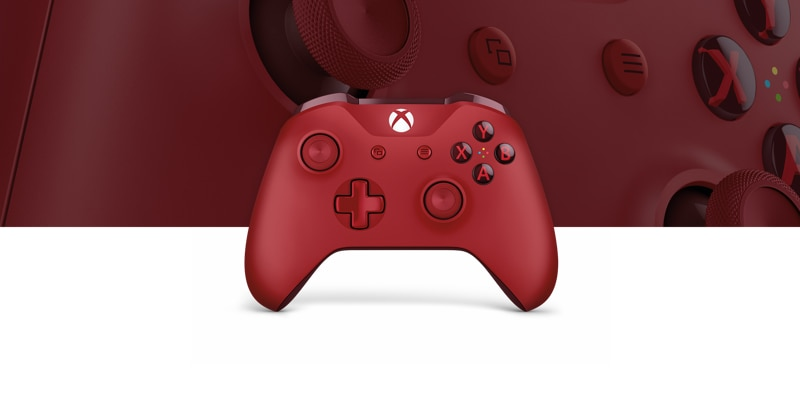 Xbox Wireless Controller – Red - Microsoft
