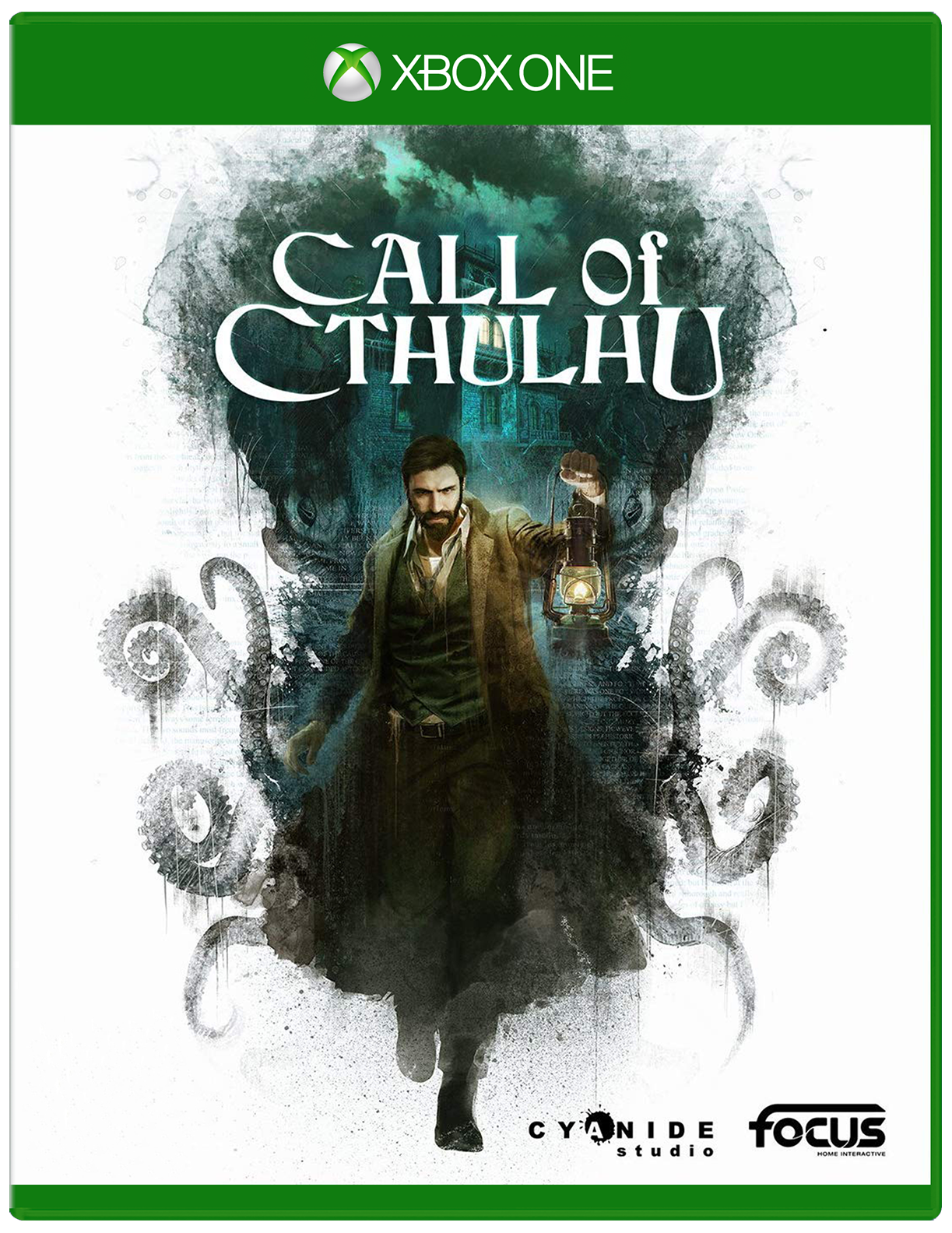 Cover of Call of Cthulhu for Xbox One