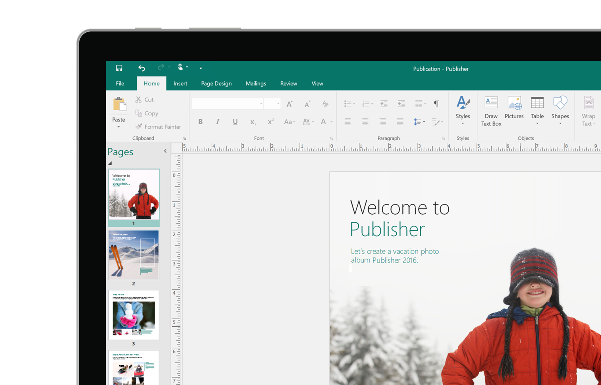 Microsoft Publisher, Desktop Publishing Software, Office 365