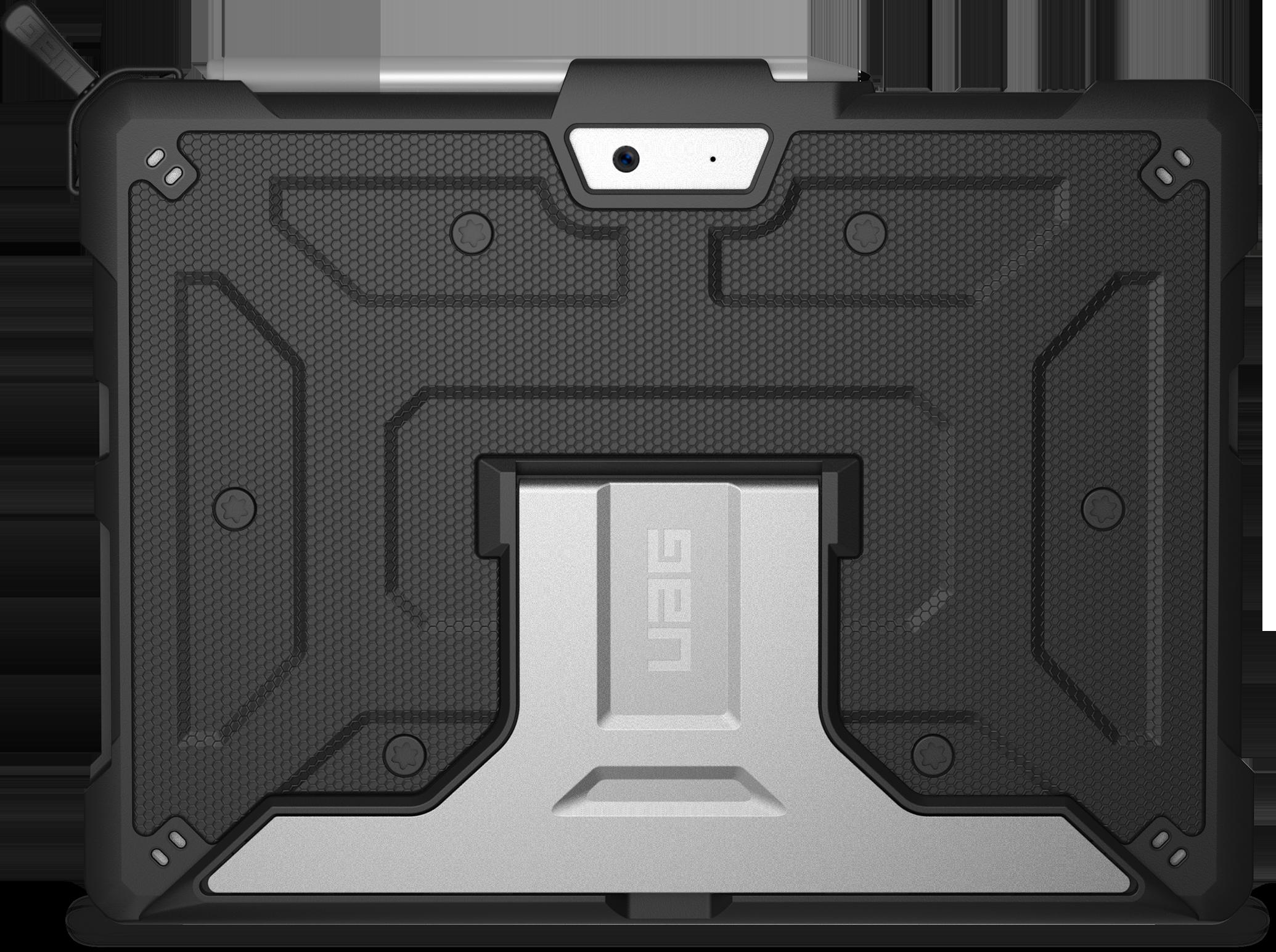UAG Metropolis-hoes voor Surface Go (zwart)