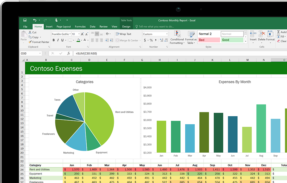 Microsoft Excel 2007 Office